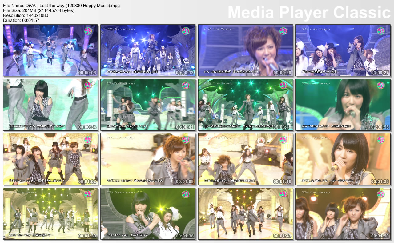 Akb Live Diva Lost The Way Music Japan