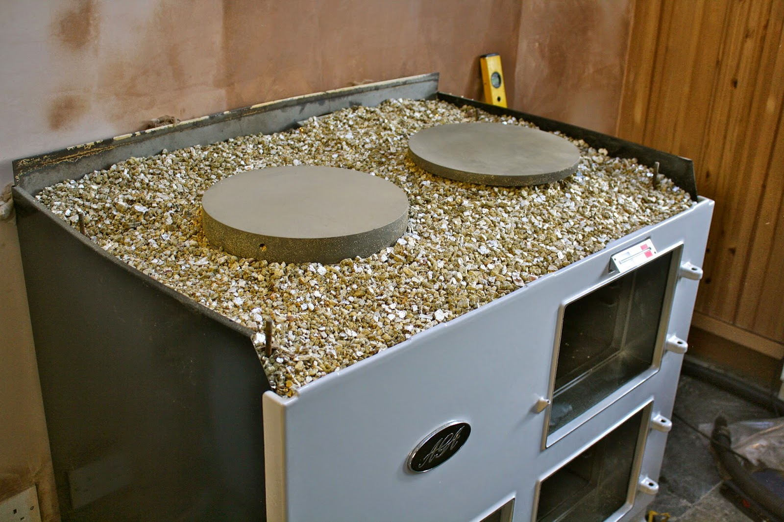 build aga - 6. plates & insulation