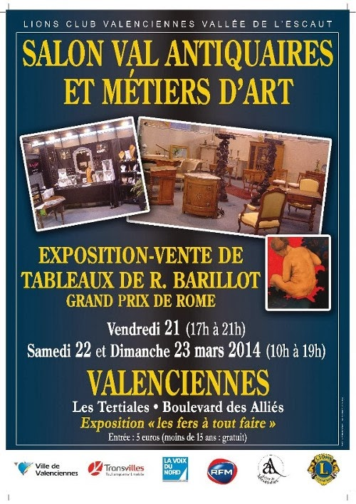 Le cercle royal artistique mouscronnois f vrier 2014 for Salon de the valenciennes