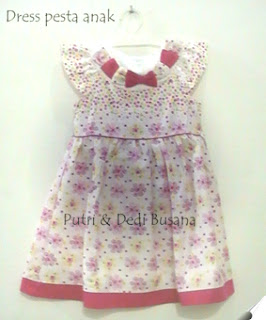 dress pesta anak terbaru
