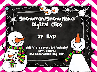 http://www.teacherspayteachers.com/Product/SnowmanSnowflake-Clipart-Set-1040510