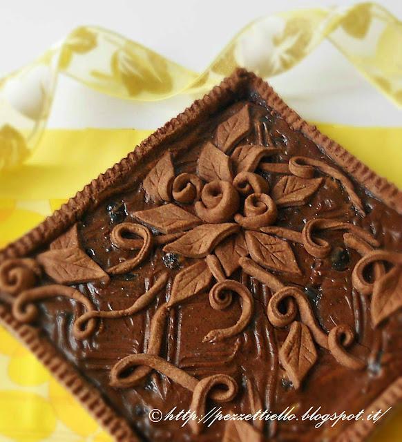 Crostata al cioccolato con stevia
