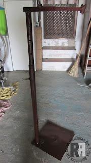 soporte de taller para reparar bicicletas