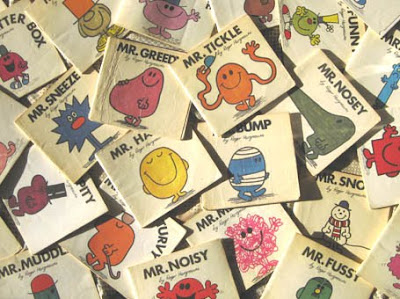 It's a collection of Mr. Men books!