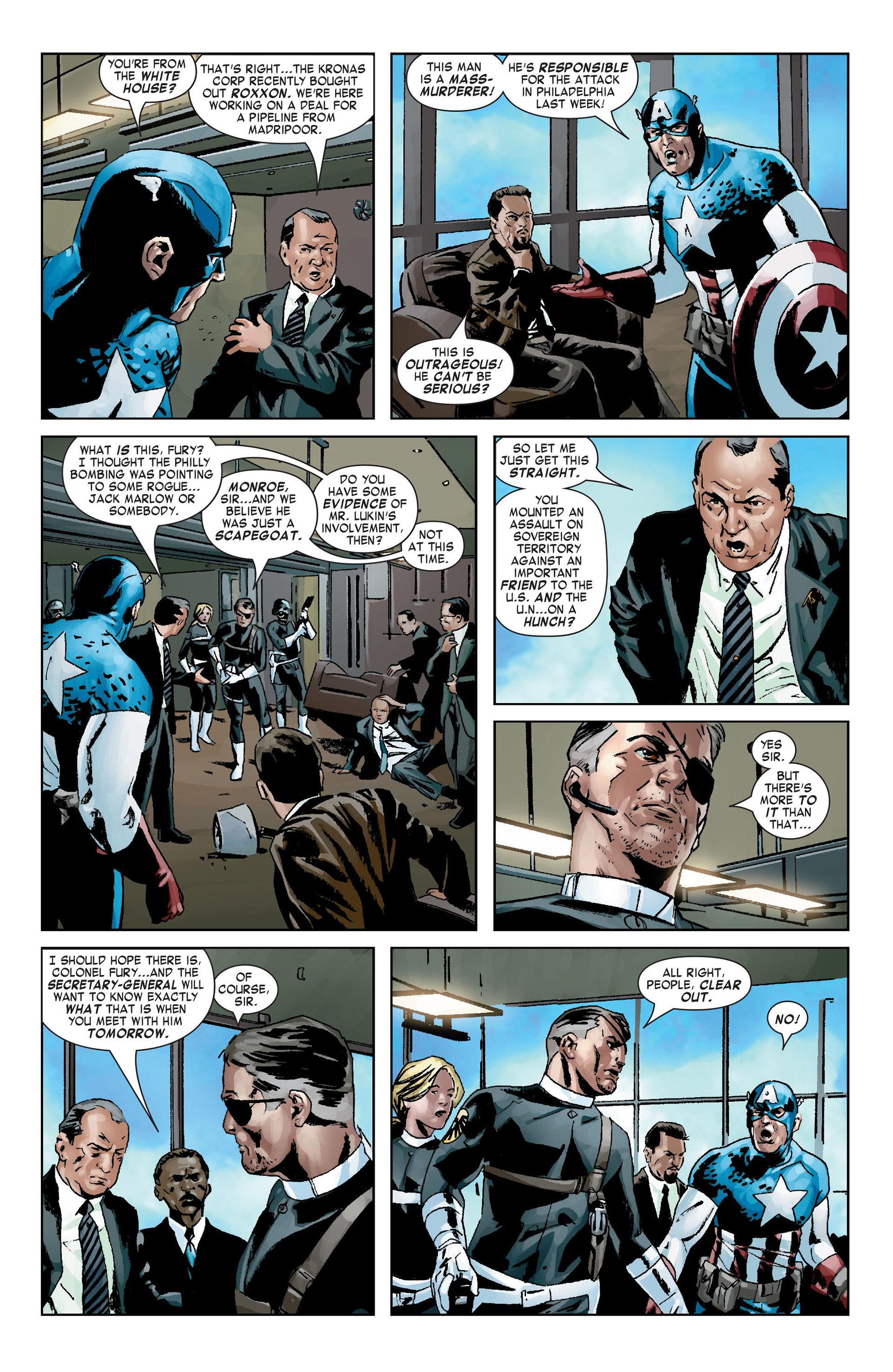 Captain America (2005) Issue #9 #9 - English 19