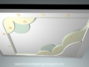 Down model 3d free decorative ceiling designs for Different kinds of ceiling design