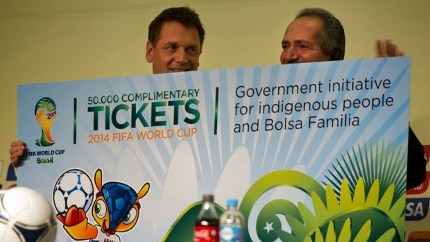 High demand as 2014 FIFA World Cup tickets go online