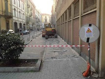 Al via il rifacimento dei marciapiedi in via Mondovì
