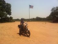 Matt and LaLa the motorcycle