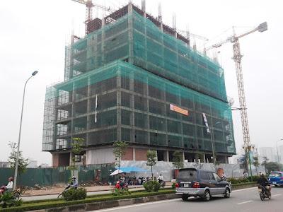 Tiến độ chung cư Tây Hà - Lê Văn Lương