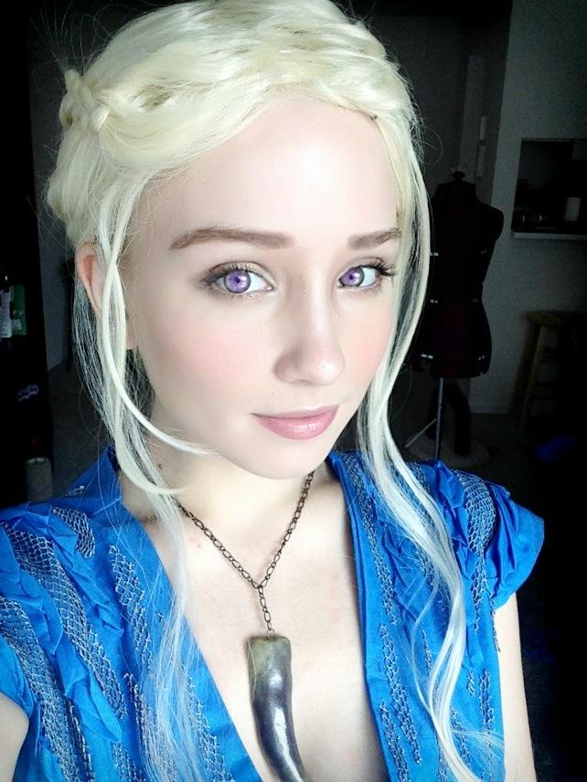 Jellyfish soup daenerys cosplay pattern and makeup tutorial for Daenerys targaryen costume tutorial