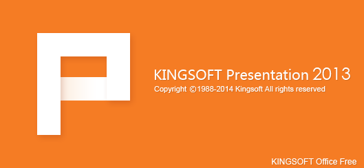 KingSoft Free presentation 2013
