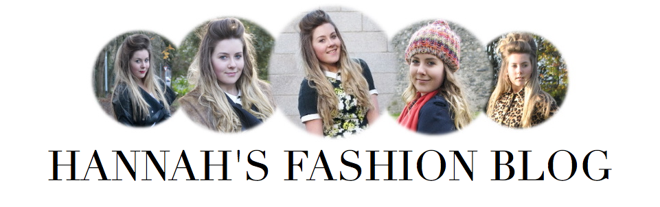 HANNAH'S FASHION BLOG