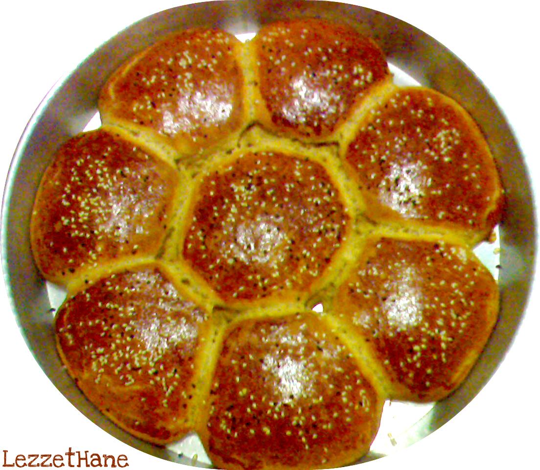 Çiçek Çörek Tarifi