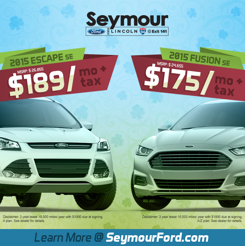 "Get $750 When You Make ""The Switch"" to a Ford"