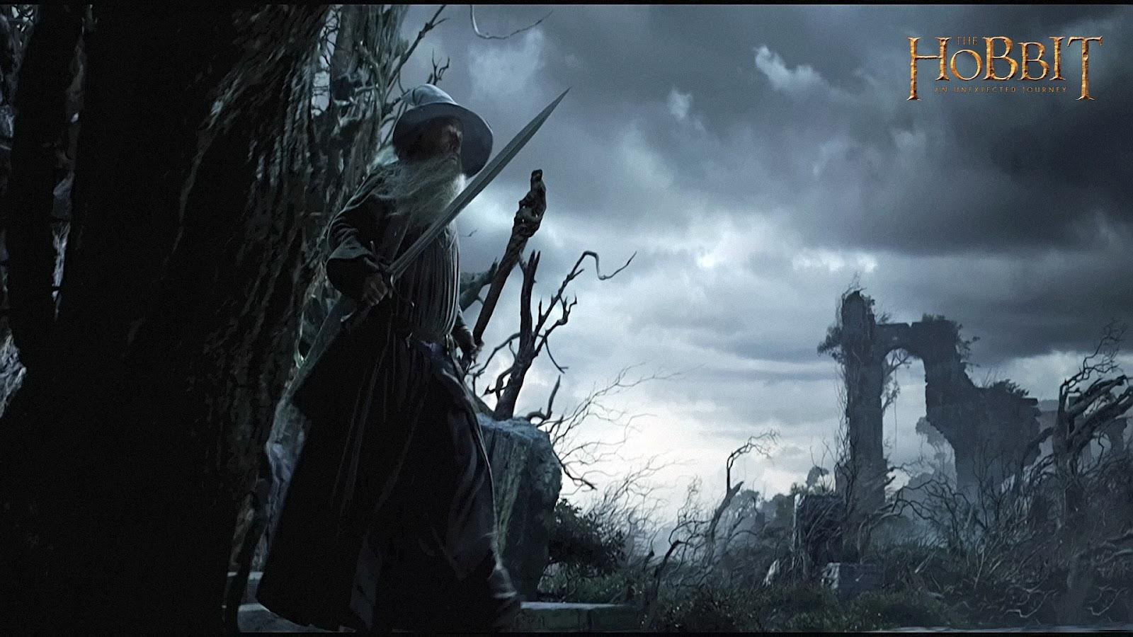 """Data la recente uscita voglio mettere a vostra disposizione 22 wallpaper del film """"The Hobbit ..."""
