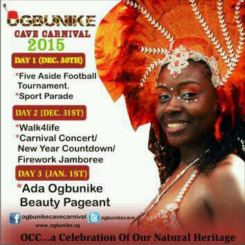 The Stage Is Set For Ogbunike Cave Carnival 2015
