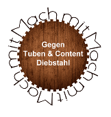 Gemeinsam gegen Tuben- und Content-Klau !
