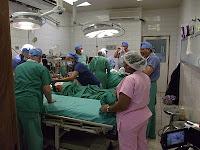 Brigada de medicos en Olanchito
