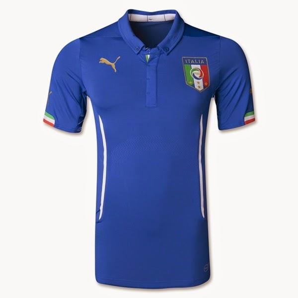 Jersey Piala Dunia 2014 Negara Italy