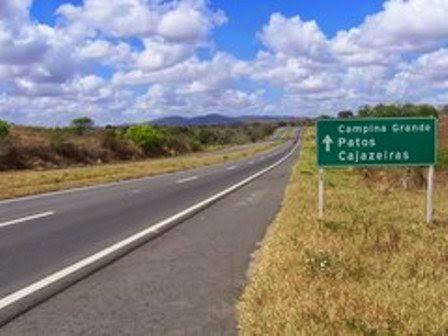 DUPLICAÇÃO DA BR  230  DE CAJAZEIRAS  A CAMPINA  GRANDE PB   FOI  APROVADA AS  OBRAS