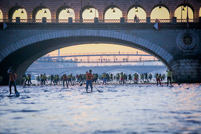 Nautic SUP Paris Crossing 2014.