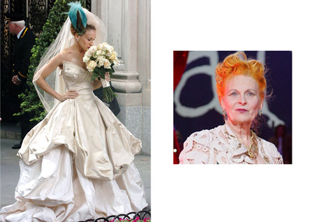 Sarah Jessica Parker and Vivienne Westwood