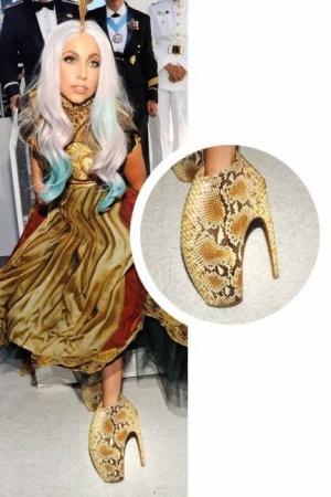 Sepatu Unik Lady Gaga
