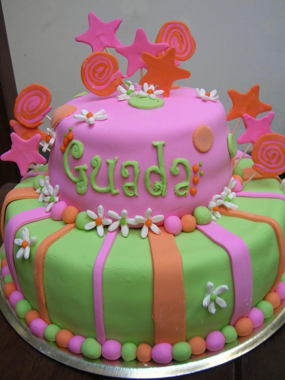 SWEET! cupcakes: Guada de colores