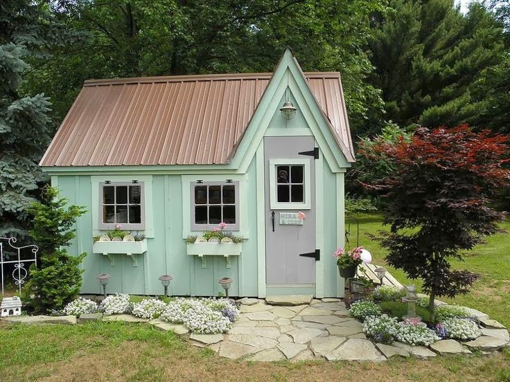 Garden potting sheds - Backyard sheds plans ideas ...