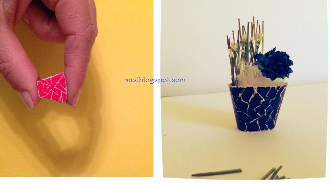 Susi 39 s miniatures flores macetas for Macetas miniatura