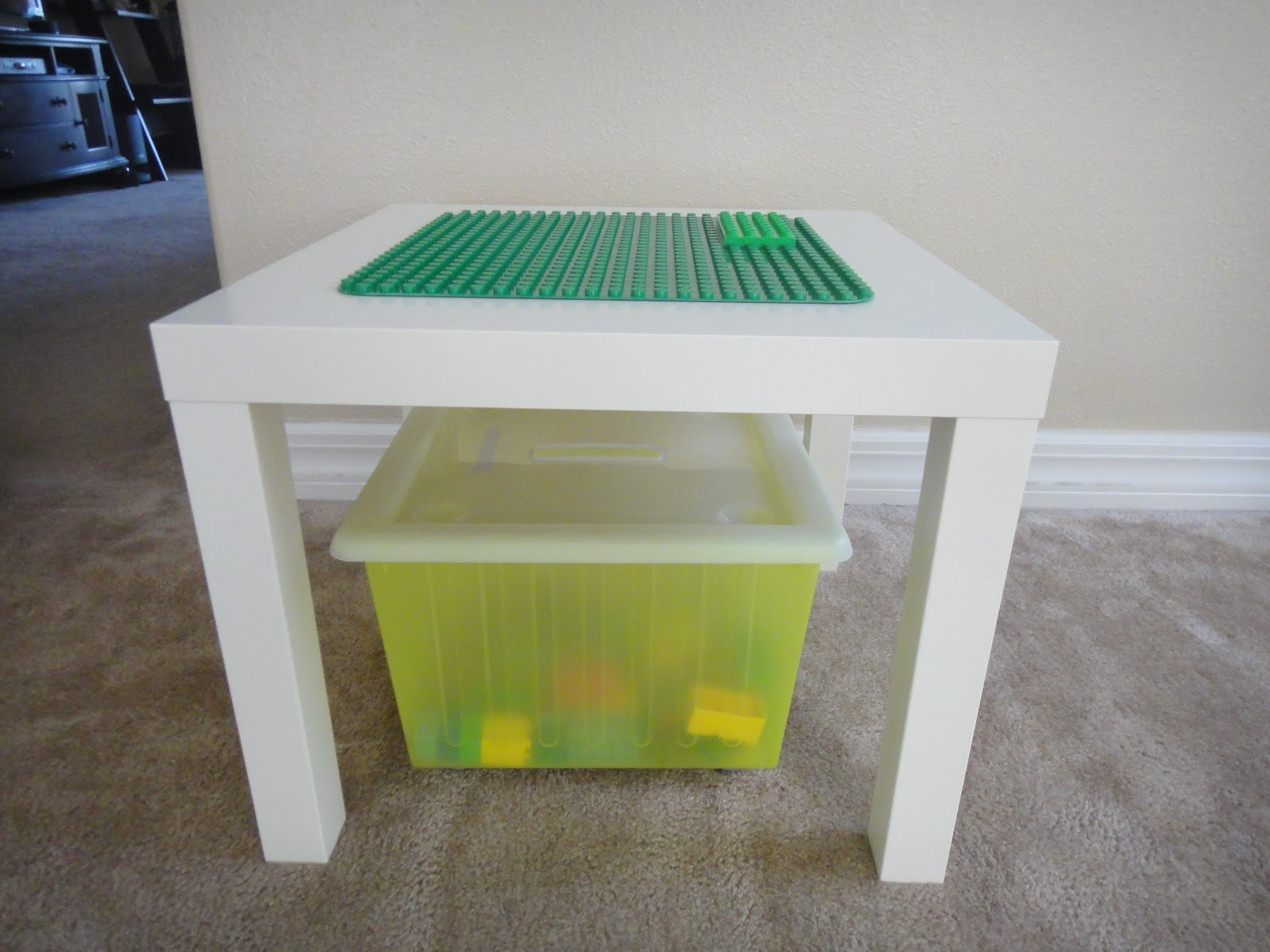 The porter family ikea hack for Table lego ikea