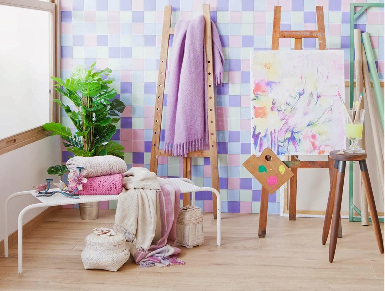 Decoraci n f cil coleccion primavera 2014 en tonos - Zara decoracion ...