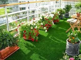 Thảm cỏ nhân tạo sân vườn