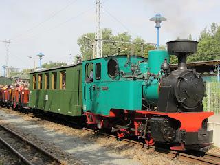 Parleisenbahn: Bärchentag bei der Parkeisenbahn Wuhlheide