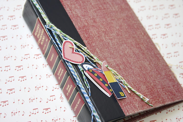 Altered Book Cover Tutorial | Monika Wright