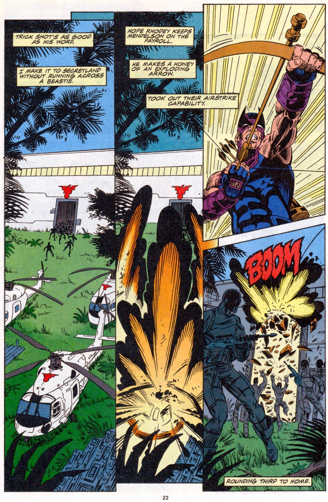 Hawkeye (1994) Issue #4 #4 - English 18