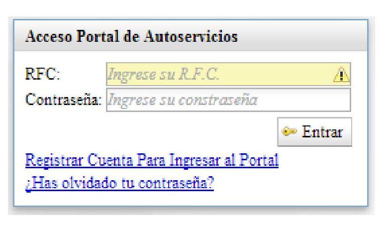 Cómo acceder al portal de autoservicios 2