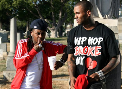 fotos de lil wayne con the game