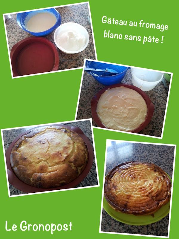 le gronopost g 226 teau au fromage blanc sans p 226 te