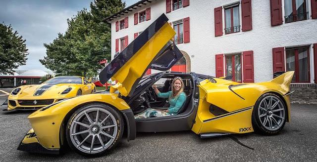 google幹部ベンジャミン・スロス氏、妻の誕生日に「フェラーリFXX K」をプレゼント!