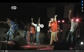 Deutsche-Welle-TV berichtet über unser Rapprojekt in Westafrika