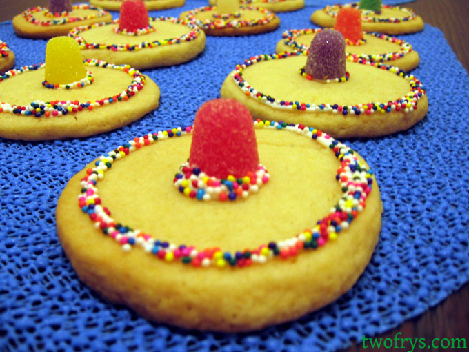 Two Frys Sombrero Cookies