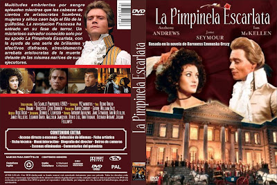 CARÁTULA, COVER, DVD: La Pimpinela Escarlata | 1982 | The Scarlet Pimpernel