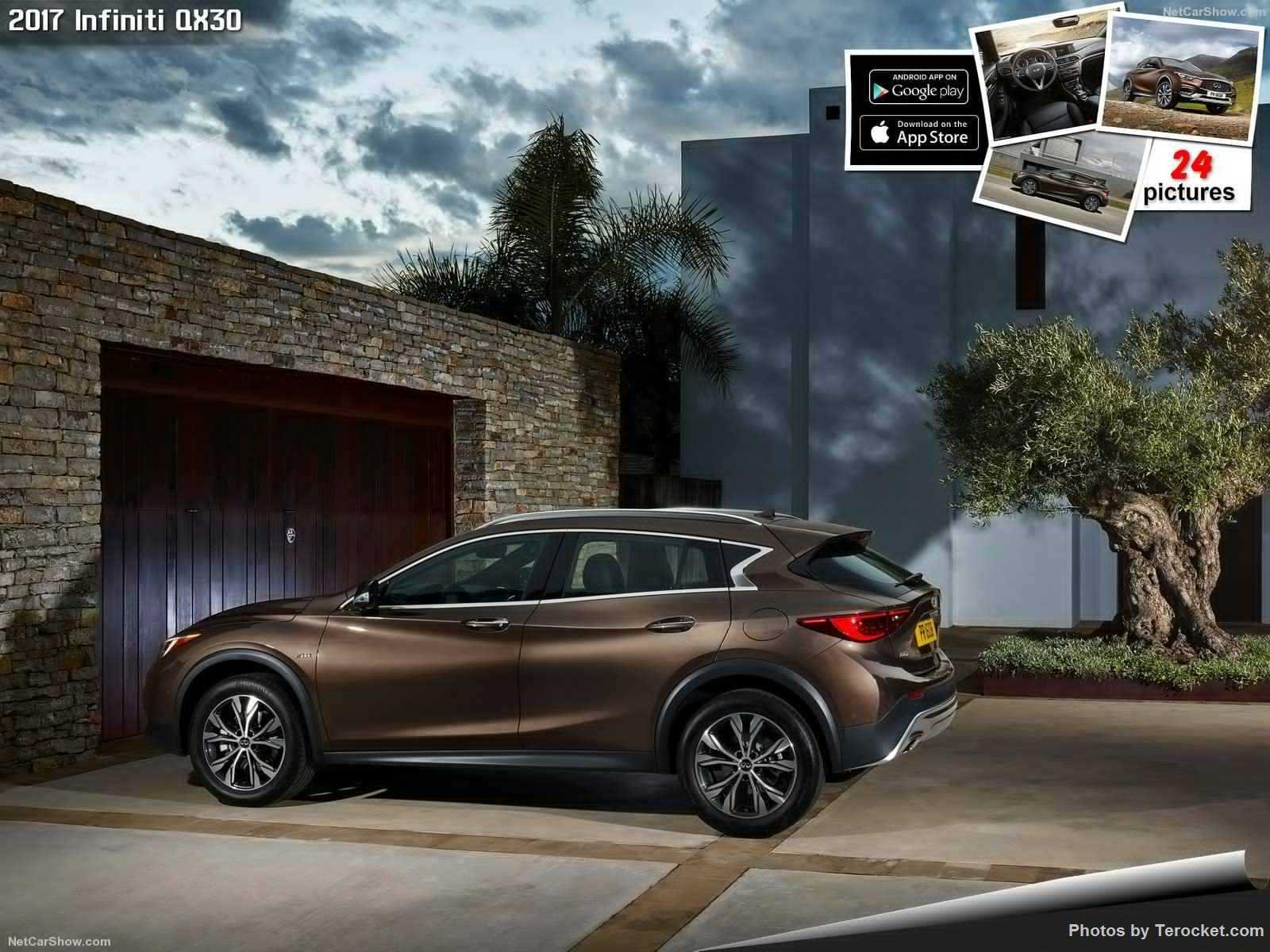 Hình ảnh xe ô tô Infiniti QX30 2017 & nội ngoại thất