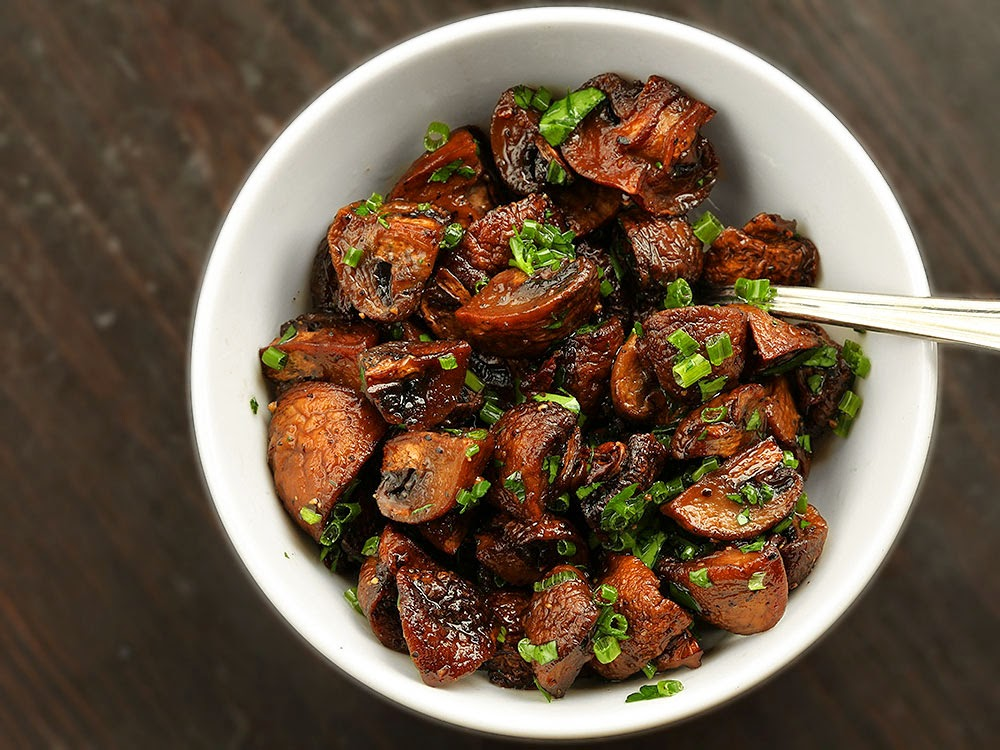 Herb Roasted Mushrooms