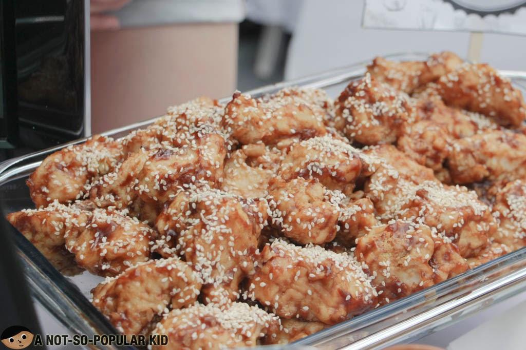 V Kitchen's Korean Soy Garlic Cauliflower