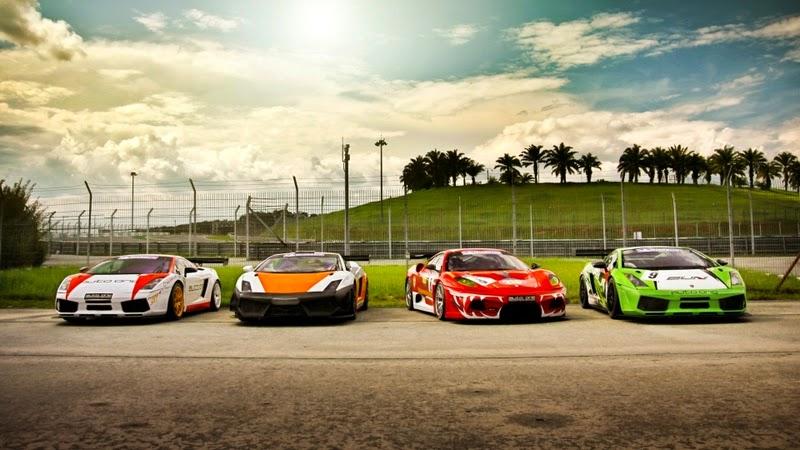 Sports Cars Lamborghini Ferrari