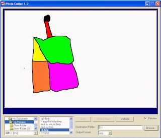 برنامج قص الصور Download Photo Cutter 1.0