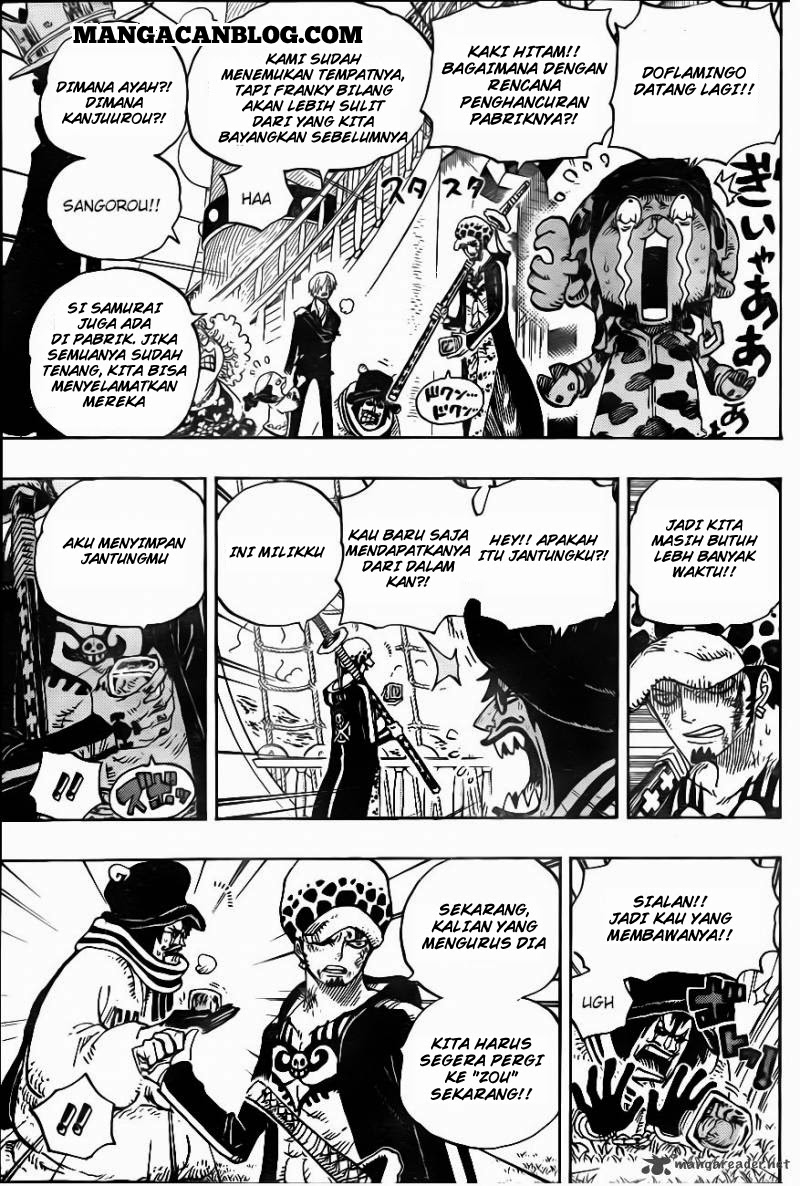Komik one piece 724 - rencana law 725 Indonesia one piece 724 - rencana law Terbaru |Baca Manga Komik Indonesia|Mangacan